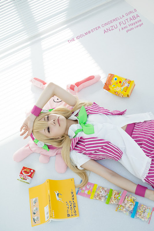 CosRain.Com HAYASE AMI&#65287;s COSPLAY - Anzu Futaba
